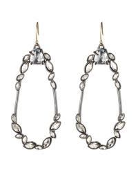 Alexis Bittar | Metallic Liquid Crystal Link Earring You Might Also Like | Lyst