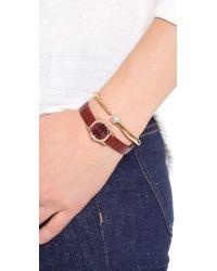Vita Fede Metallic Crystal Eclipse Bracelet - Rose Gold/clear