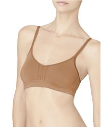Calvin Klein | Brown Concept Seamless Double Layer Underwire Bra | Lyst