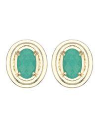 Kendra Scott | Green Yurko Earrings | Lyst