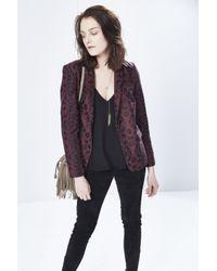 Rebecca Minkoff | Purple Cobalt Jacket | Lyst