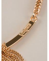 Vita Fede Metallic Chain Tassel Necklace