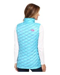 The North Face - Blue Thermoball™ Vest - Lyst
