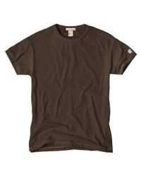Todd Snyder | Classic Crew T-shirt In Earth Brown for Men | Lyst