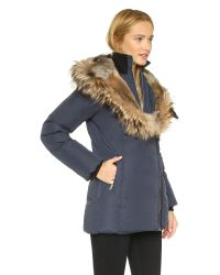 Mackage - Blue Akiva Coat - Lyst