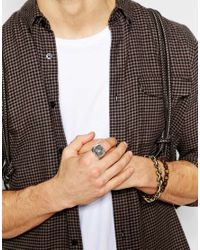 Icon Brand - Metallic Imperial Yen Ring for Men - Lyst