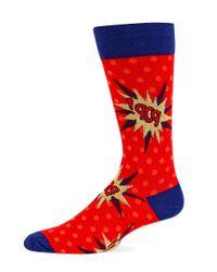 Hot Sox | Red Pop Trouser Socks for Men | Lyst