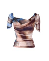 Plein Sud Jeanius - Brown T-shirt - Lyst