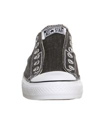 Converse - Black Ctas Slip On Trainers - Lyst