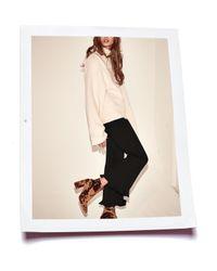 Stella McCartney - White Long-sleeve Turtleneck Sweater - Lyst