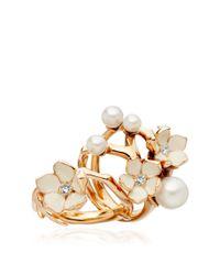 Shaun Leane Metallic Exclusive Diamond Cherry Blossom Ring