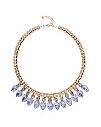 Ted Baker | Metallic Emari Pear Drop Necklace | Lyst