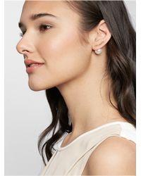 BaubleBar   Natural Rosey Drop Earrings   Lyst
