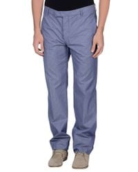 Peuterey - Blue Casual Trouser for Men - Lyst