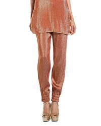 Gucci - Orange Iridescent Rust Liquid Jogging Pants - Lyst