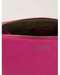 Giorgio Armani - Pink Classic Make Up Bag - Lyst