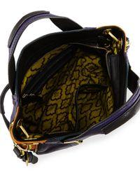 orYANY - Blue Lian Small Zip Leather Satchel Bag - Lyst