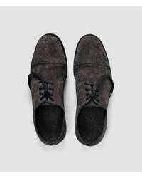 AllSaints | Gray Neptune Shoe for Men | Lyst