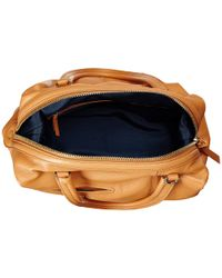 Cole Haan | Brown Omega Large Satchel | Lyst