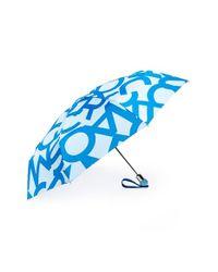 Marc By Marc Jacobs   Blue 'Bold Logo' Umbrella   Lyst