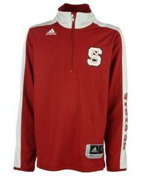 Adidas Originals | Red Men's Long-sleeve North Carolina State Wolfpack Shooter Shirt for Men | Lyst