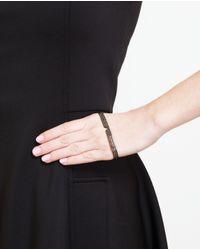 Gaydamak - Black Diamond Hand Bracelet - Lyst