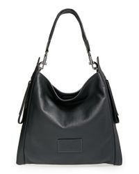 Marc By Marc Jacobs | Black 'zip That' Leather Hobo | Lyst