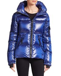 Sam. - Blue Racer Quilted Down Jacket - Lyst
