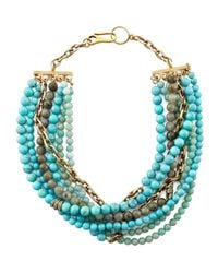 Paige Novick | Metallic Julie 7strand Beaded Necklace | Lyst