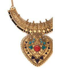 Forever 21 - Metallic Western Girl Arrow Necklace - Lyst