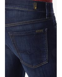 7 For All Mankind - Blue Luxe Performance: Standard Classic Straight for Men - Lyst