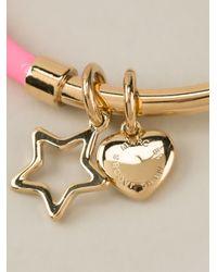 Marc By Marc Jacobs | Metallic Shoot Star Hula Hoop Bangle Bracelet | Lyst