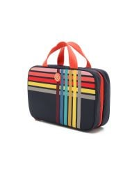 Tory Burch - Blue Print Hanging Zip Cosmetic Case - Navy Multi - Lyst