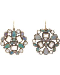 Judy Geib - Blue Opal & Moonstone Kaleidoscope Earrings - Lyst