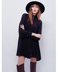 Free People - Black Endless Summer Womens Oh My Baby Dress - Lyst