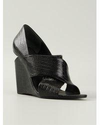 Alexander Wang | Black 'ida' Sandals | Lyst