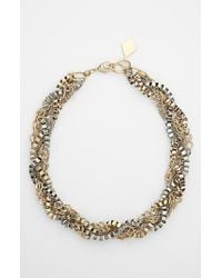 Bonnie Jonas - Metallic Mixed Chain Necklace - Lyst