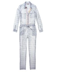 lemlem | Gray Light Weight Jumpsuit | Lyst