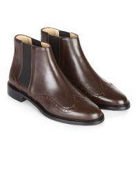 Hobbs | Brown Ollie Ankle Boot | Lyst
