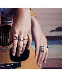 Pamela Love | Metallic Pluma Ring | Lyst