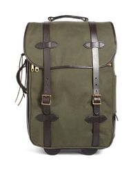Brooks Brothers Green Filson® Wheeled Carry-On for men