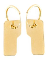 Wouters & Hendrix | Metallic 'playfully Precious' Earrings | Lyst