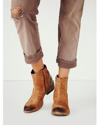 Matisse - Brown Womens Everyday Distressed Boot - Lyst
