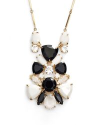 kate spade new york | Multicolor 'twinkle Lights' Cluster Pendant Necklace - Neutral Multi | Lyst