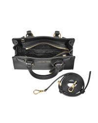 Michael Kors - Dillon Black Saffiano Leather Extra Small Crossbody Bag - Lyst