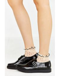 Urban Outfitters | Black Monk Strap Platform Shoe | Lyst