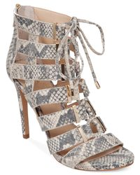 Vince Camuto | Natural Freshi Dress Sandals | Lyst