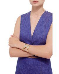 Monica Sordo - Metallic M'o Exclusive: Ducane Gold And Ruthenium Cuff - Lyst