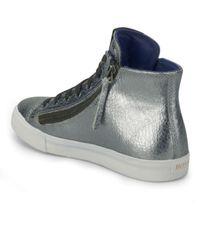 BOSS Orange Metallic Womens Nycolr Hitop Trainers for men