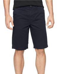 Calvin Klein Jeans | Blue Cotton Shorts for Men | Lyst